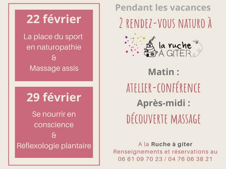 Naturopathie et massage : profitez des vacances pour les découvrir à prix doux