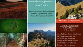 Jeûne itinérant en Chartreuse : 2 séjours de 5 ou 7 jours au pays des Chartreux