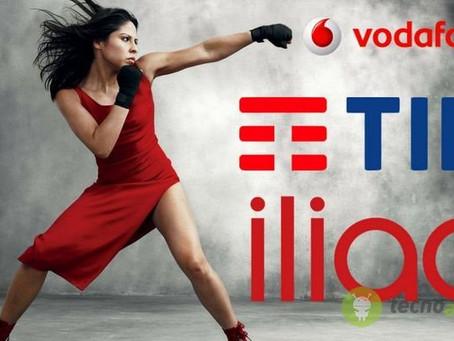 TIM, Vodafone, Iliad, WindTre: 4 tariffe senza precedenti per l'estate