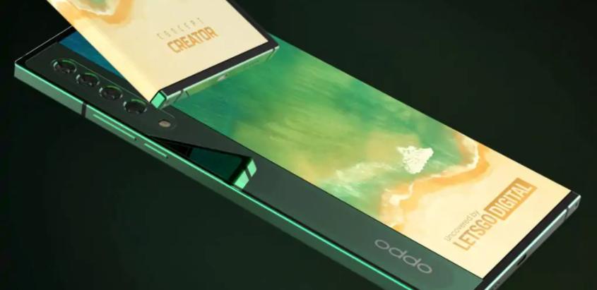 Anche OPPO ha brevettato uno smartphone con display avvolgente ed è bellissimo
