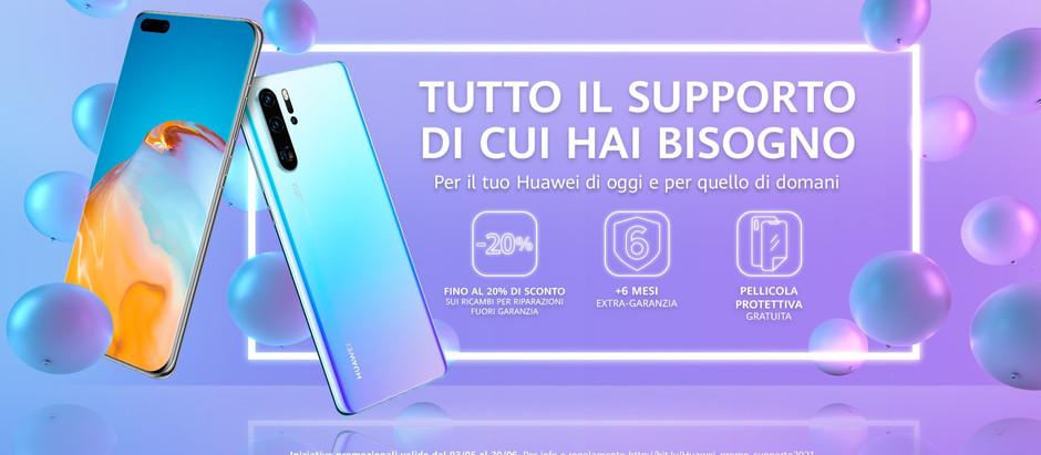 Huawei pr i suoi clienti vantaggi in arrivo
