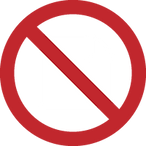 No paper prescription symbol for iCoreConnect iCoreRx electronic prescribing