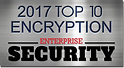 Award badge for Top 10 Enterprise Security Solutions Secure Email