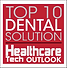 Award Badge for Top 10 Dental Solution in Healtchare Technology