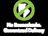 No bounce backs symbol for iCoreConnect iCoreFlex private encrypted network