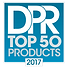 Award Badge for DPR Dental Products Reports Magazine of 2017