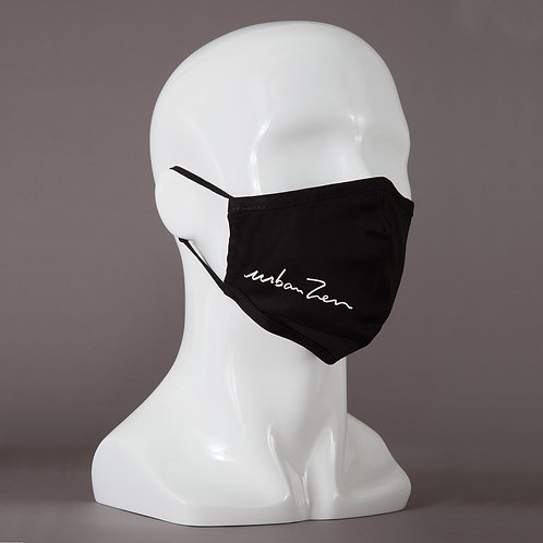 Customizable Tailored Washable Cotton Mask with Adjustable Straps