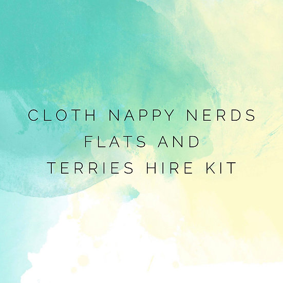Flat and Terry Nappy Hire Kit