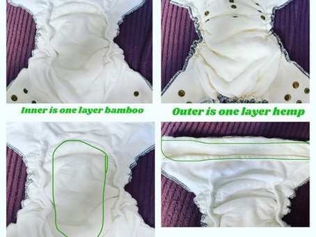 Fudgey Pants Fitted Nappy Review