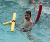 Pool Noodle horsey
