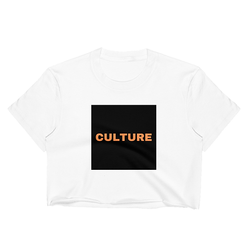 INVERTD™ CULTURE White CropTop