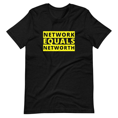 NETWORK = NETWORTH Tee by Entreprepoet™
