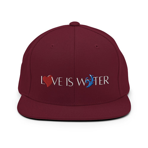 QRS | LOVE IS WATER 2 Snap Back