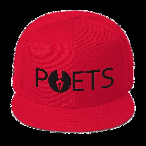 POETS™ Snap Back | BLACK