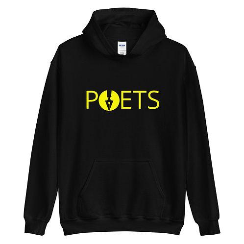 POETS™  hoodie | Yellow Logo