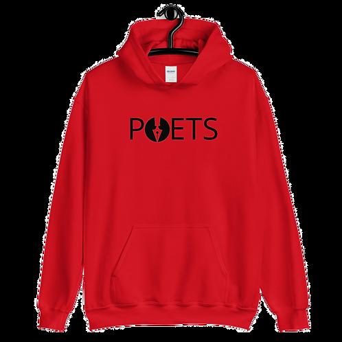 POETS™ hoodie | Black Logo