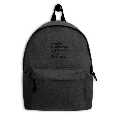 POETS™ Embroidered Backpack