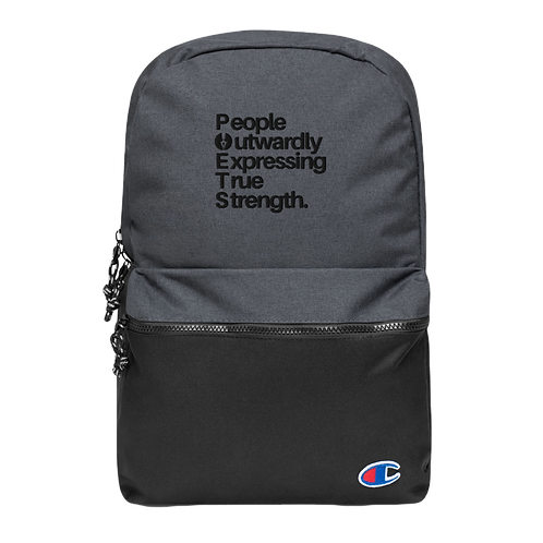 POETS™ Embroidered Champion Backpack