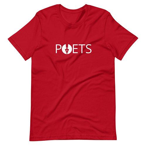 POETS™ T-Shirt Large Logo | White