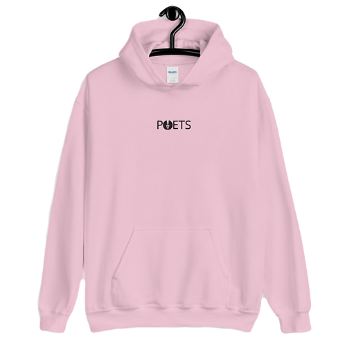 POETS™ Hoodie | Embroidered White Logo