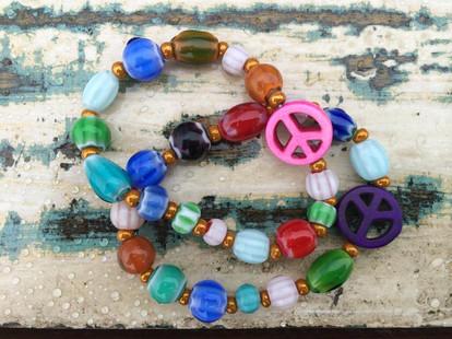 Beautiful handmade bracelets