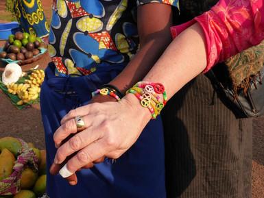 Bracelets in Africa