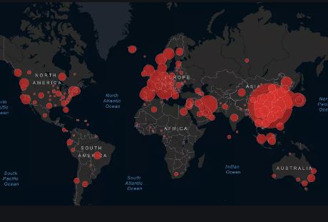 O número de mortos por coronavírus no mundo já ultrapassa  10 mil