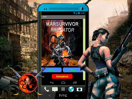 Aplicativo Sobrevivencialista na sua 4a Versão: MARSURVIVOR PREDADOR