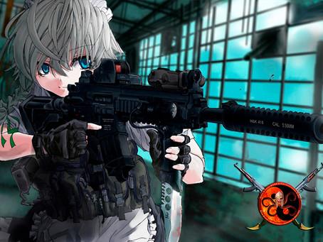 Fuzil HK416: Alemã precisa e confiável