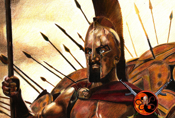 Guerreiros espartanos: Sobrevivencialistas e combatentes extremos