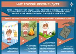 МЧС РОССИИ РЕКОМЕНДУЕТ
