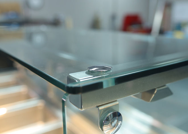 Sneeze Guards Glass Stainless Steel Cafeteria Counter Master Fabricators Cirilo Collection