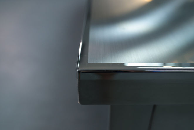 Stainless Steel Cafeteria Kitchen Counter Master Fabricator Unity