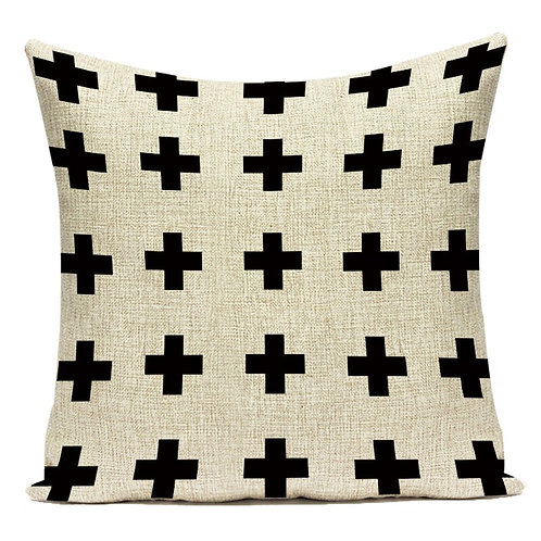 Geometric Decorative Cushion Cover 40cm x 40cm