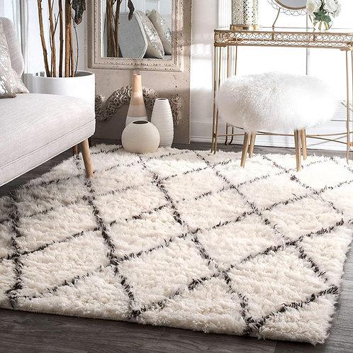 Shaggy Moroccan Carpet