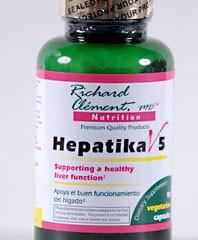 Hepatika V5 - Liver Detoxifer & Cleanse Supplement