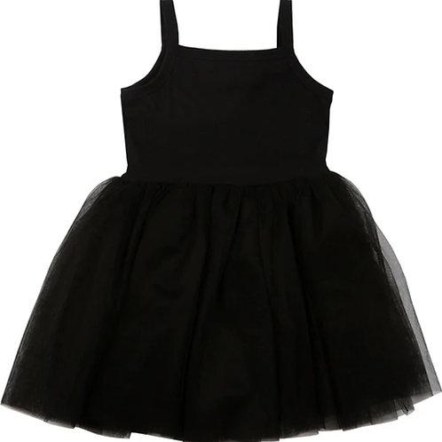 Tule jurk black | Bob and Blossom