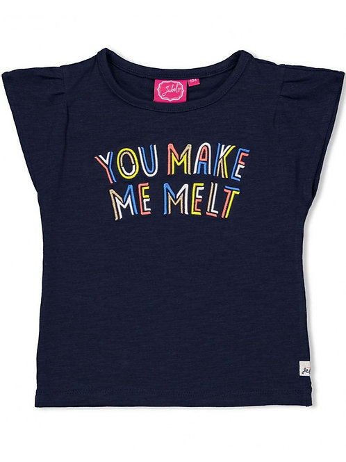 Sweet Gelato - T-shirt Melt Marine   Jubel