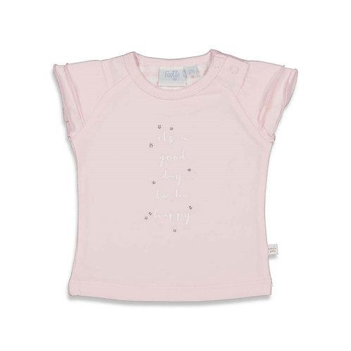 Kopie van Daydreaming pink shirtje korte mouw | Feetje