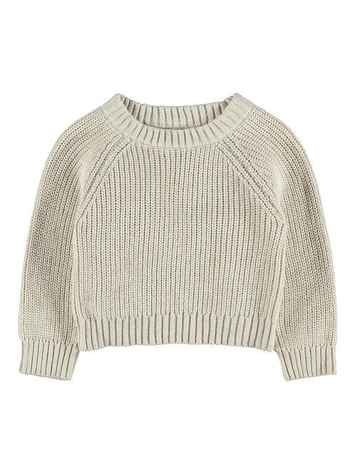 Korte gebreide trui | Lil'Atelier