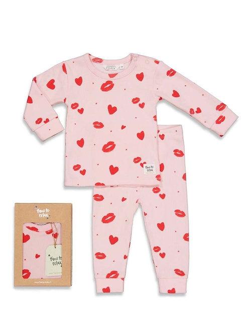 Love lesley roze pyjama   Feetje