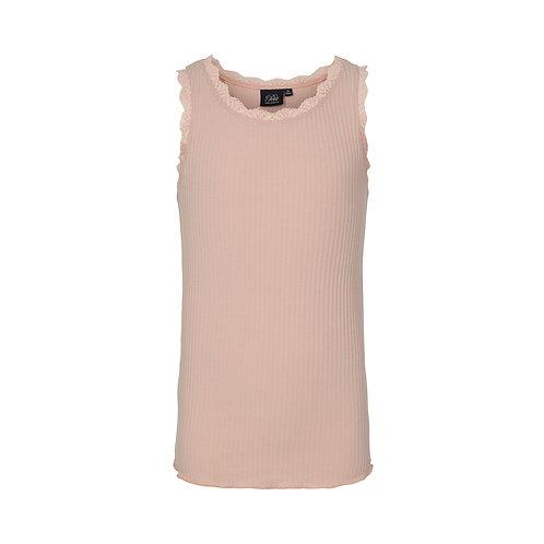 top met kantje in soft pink | Sofie Schnoor Girls