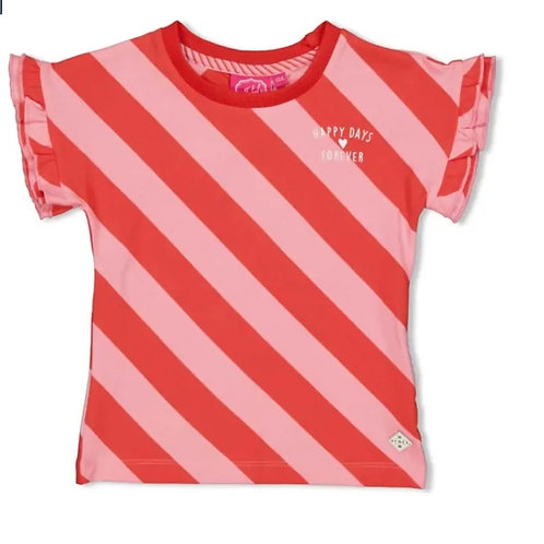 Tuttu frutti streep t-shirt | Jubel