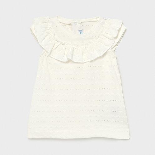 Ruffle baby t-shirt | Mayoral