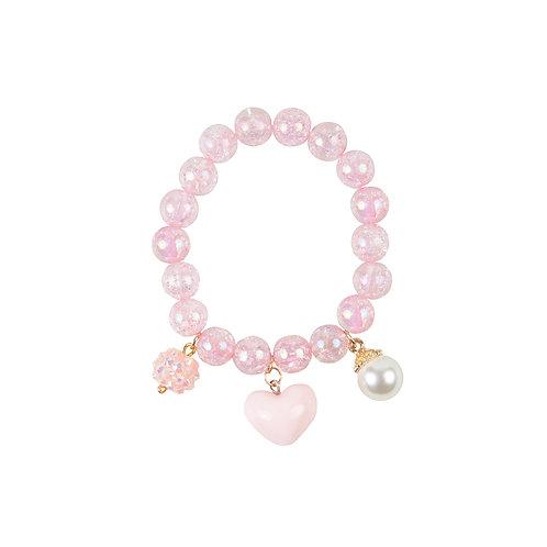 Armbandje pink pearl   great pretenders