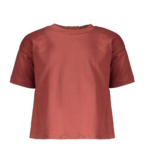 T-shirt marsala | Pexi Lexi