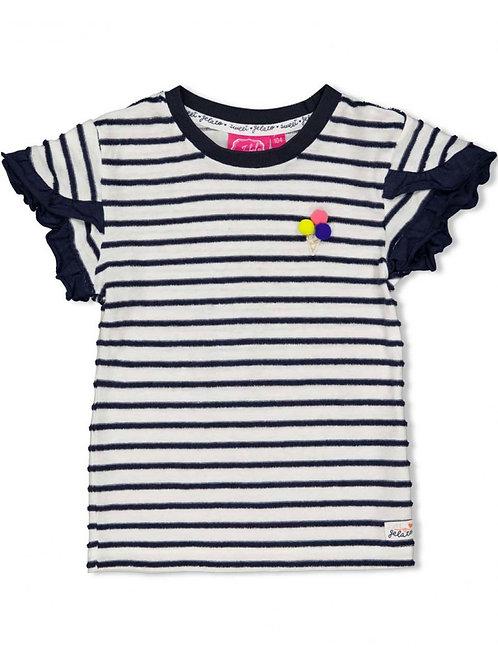 Sweet Gelato - T-shirt streep Marine | Jubel