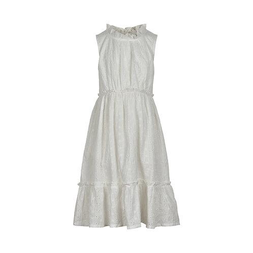 Broderie jurk | Creamie