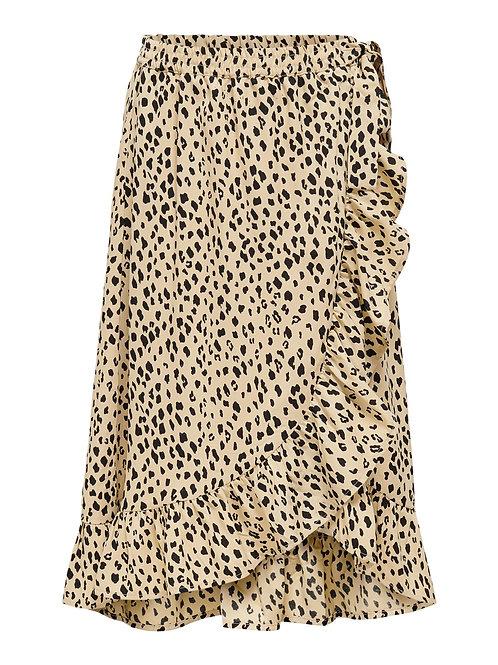 Leopard lange rok   Kids Only