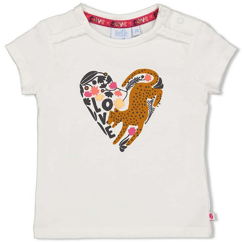 Offwhite t-shirt whoopsie daisy | Feetje